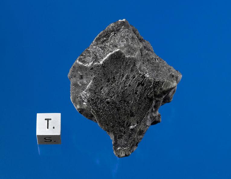 Фрагмент марсианского метеорита, упавшего на Землю в июле 2011 года