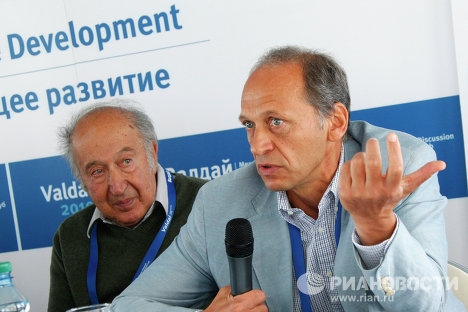 Ричард Пайпс и Лев Белоусов