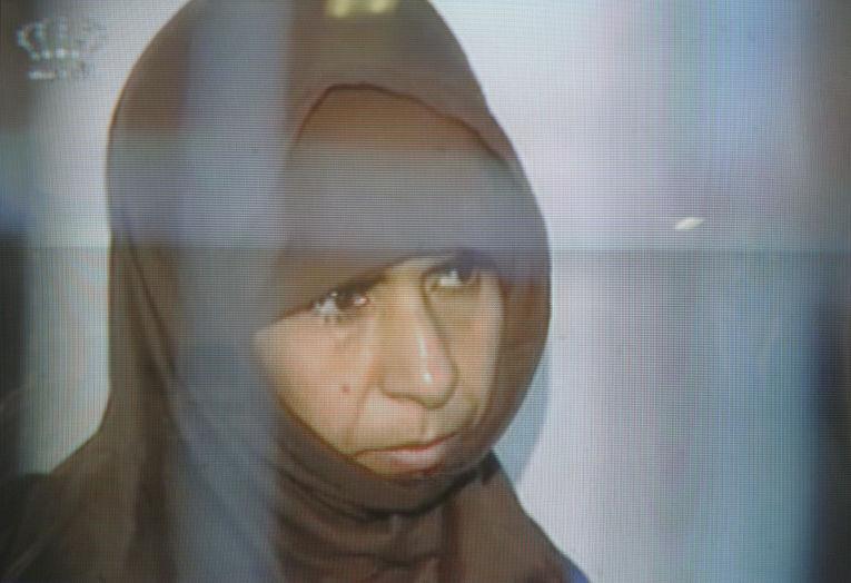 Террористка Саджида ар-Ришави