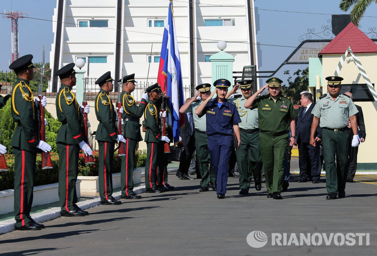 Официальный визит министра обороны РФ Сергея Шойгу в Никарагуа