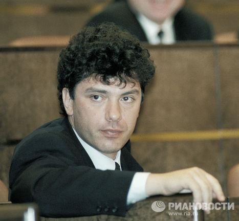 Губернатор Новогородской области Борис Немцов