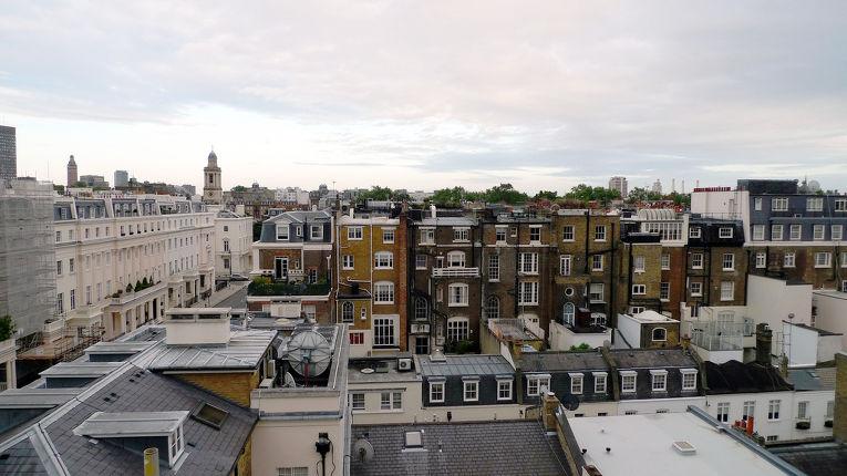 Район Белгравия в центре Лондона