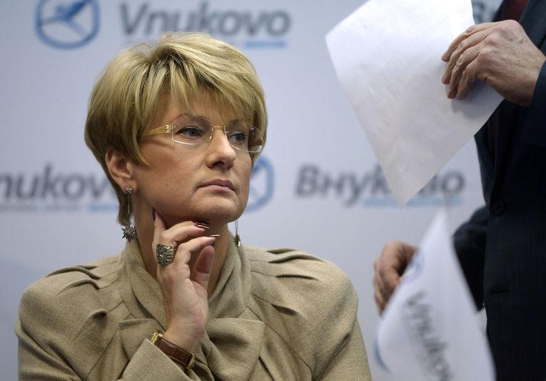 Генеральный директор авиакомпании «Трансаэро» Ольга Плешакова