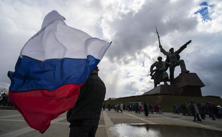 Празднование годовщины «Крымской весны» в Крыму