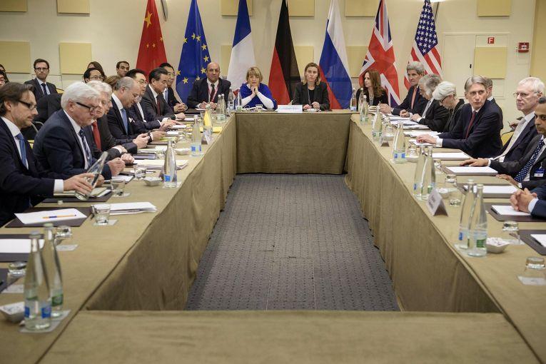 """Переговоры """"шестерки"""" по иранской ядерной программе в швейцарской Лозанне"""
