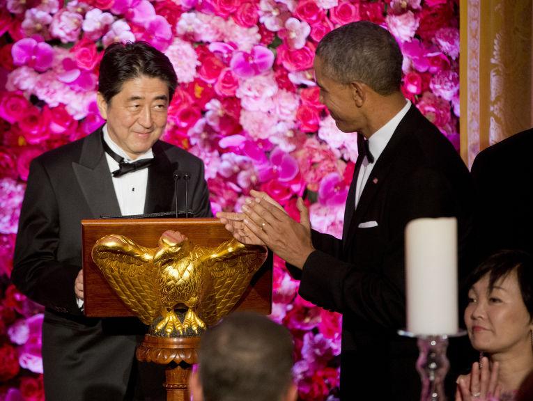 Визит премьер-министра Японии Синдзо Абэ в США