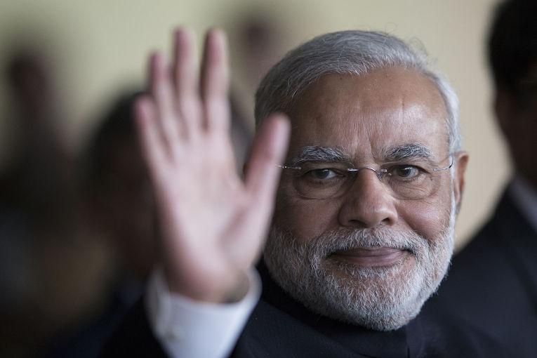 Премьер-министр Индии Нарендра Моди на саммите БРИКС в Бразилиа