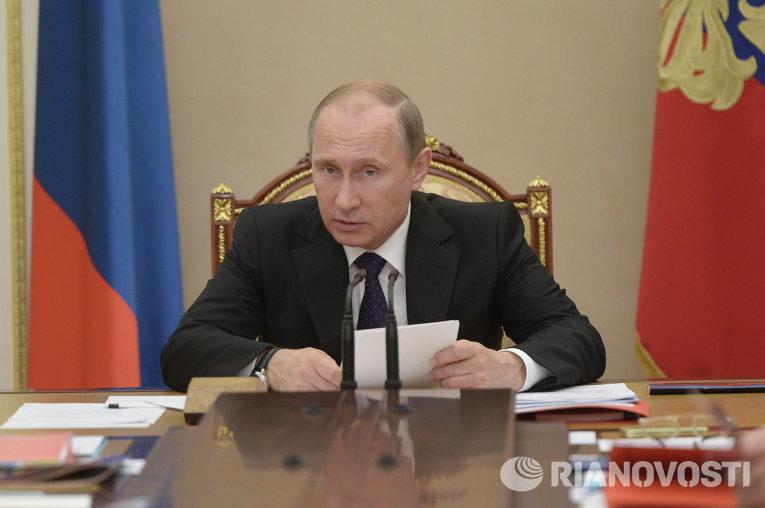 Президент РФ В.П провёл заседание комиссии по вопросам военно-технического сотрудничества РФ с иностранными государствами