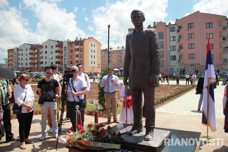 Памятник Гавриле Принципу в Сараево