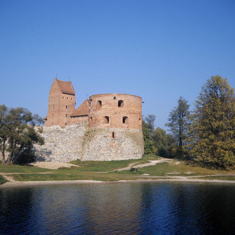 Тракайский замок-крепость. XIV век