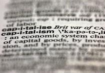 Слово capitalism в словаре