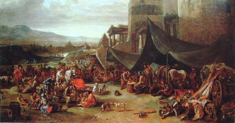 Иоганн Лингельбах «Осада Рима в 1527 году»