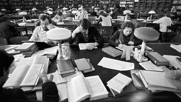В технической библиотеке Московского государственного университета имени М.В. Ломоносова