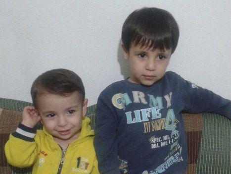 Айлан и Галип Курди, беженцы из Кобани, погибшие на пути в Грецию