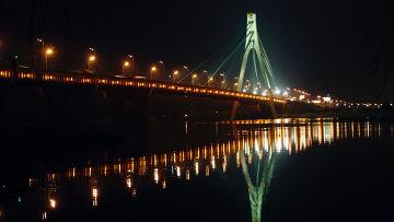 Московский мост через Днепр