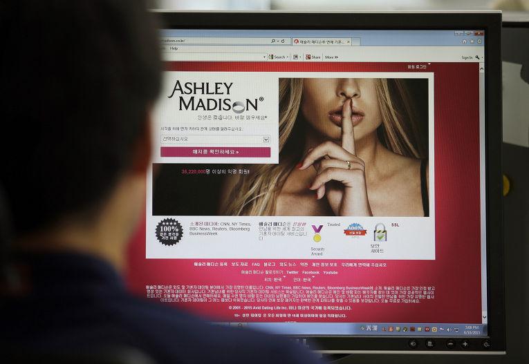 Корейская версия сайта Ashley Madison
