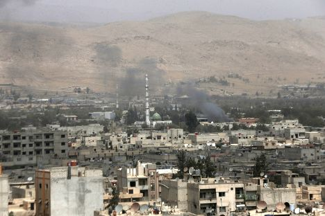 Ситуация в Дамаске, Сирия. 14 сентября 2015