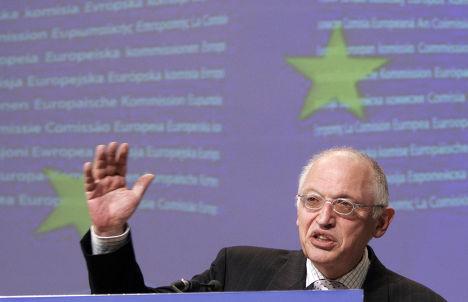 Вице-президент Еврокомиссии Гюнтер Ферхойген