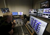 Студия телеканала ETV+ в Таллине
