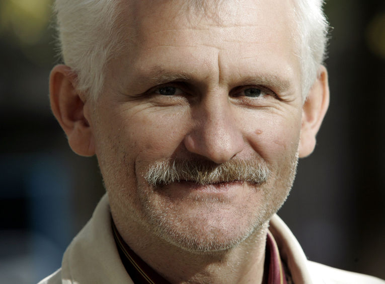 Белорусский правозащитник Алесь Беляцкий