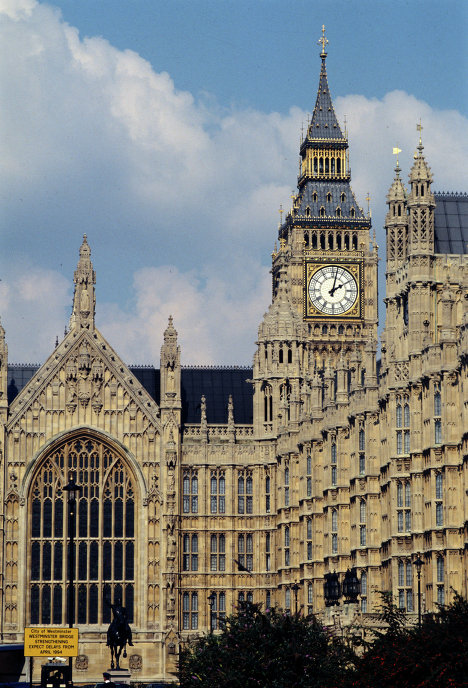 Вестминстерский дворец - здание на берегу Темзы в лондонском районе Вестминстер, где проходят заседания Британского парламента