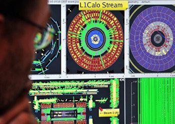 Запуск адронного коллайдера: пучки протонов впервые проходят весь его периметр, 10 сентября 2015 года