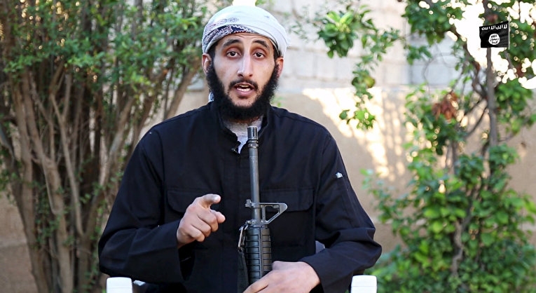 Боевик «Исламского государства» Абу Ибрахим аль Джарзави