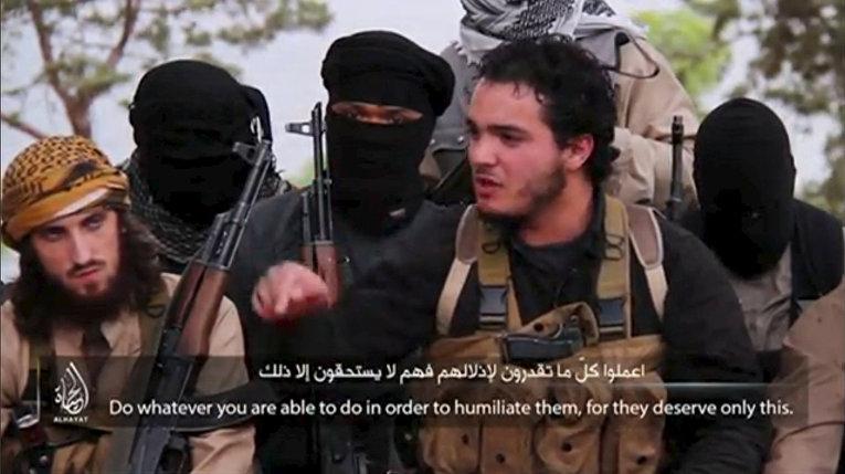 Боевик «Исламского государства» Абу Салман