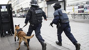 Спецоперация в парижском пригороде Сен-Дени