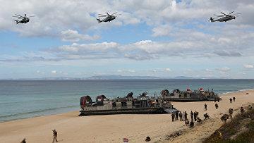 Учения НАТО Trident Juncture в Португалии