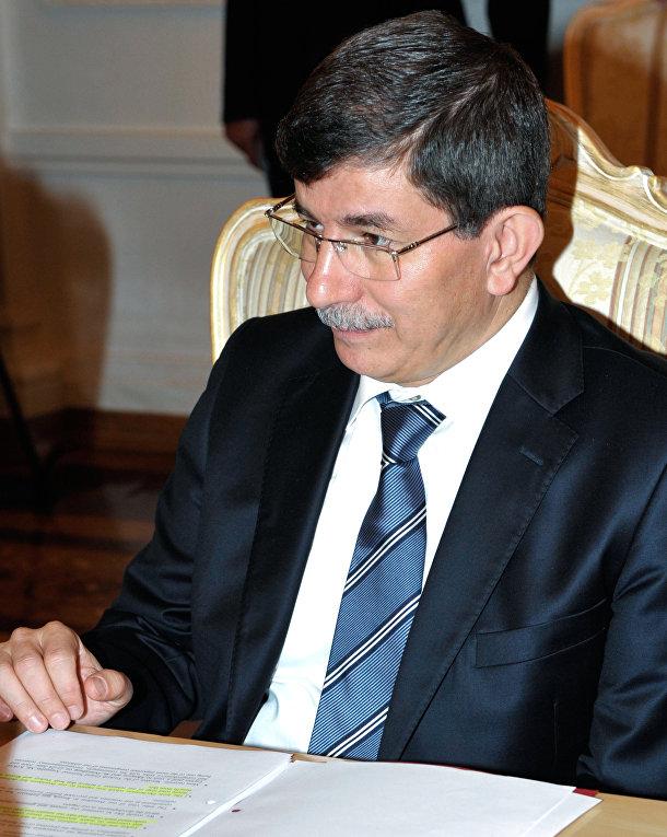 Глава МИД Турции А.Давутоглу