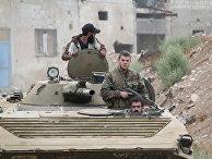 Сирийская армия проводит спецоперацию в городе Дарайа