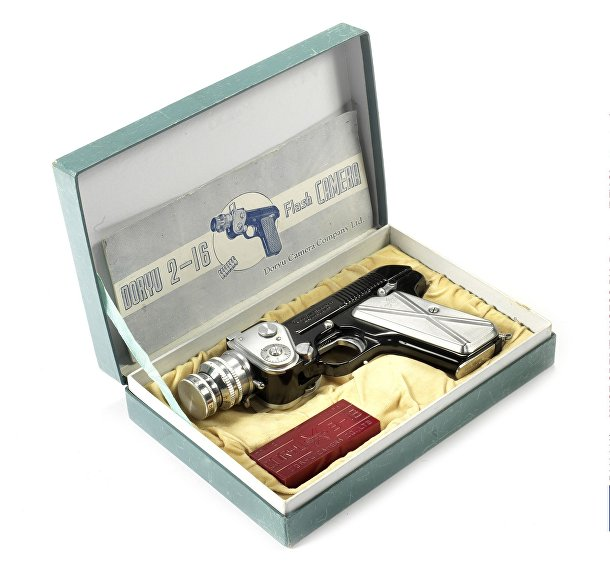 Редкие камеры аукциона Bonhams: камера-револьвер Doryu 2-16