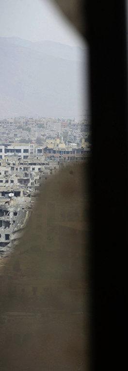 Район Дамаска Джобар, захваченный боевиками
