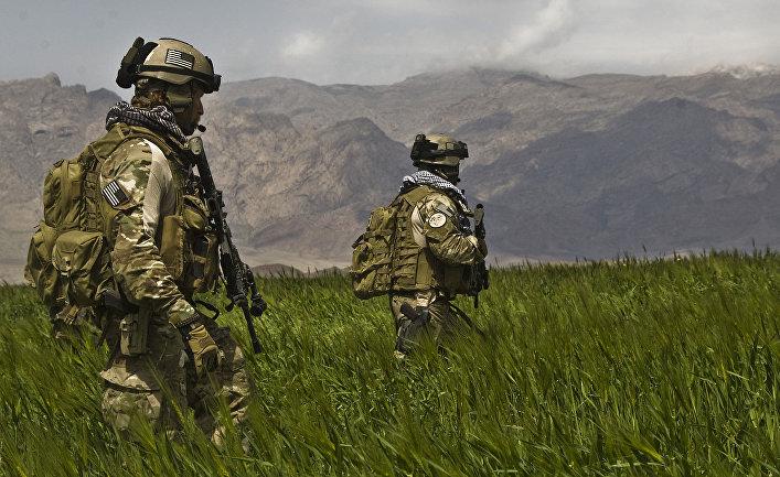 Солдаты из 3-й группы сил специального назначения армии США