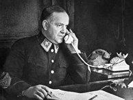 Маршал Советского Союза Георгий Константинович Жуков. Ленинград, 1943 год