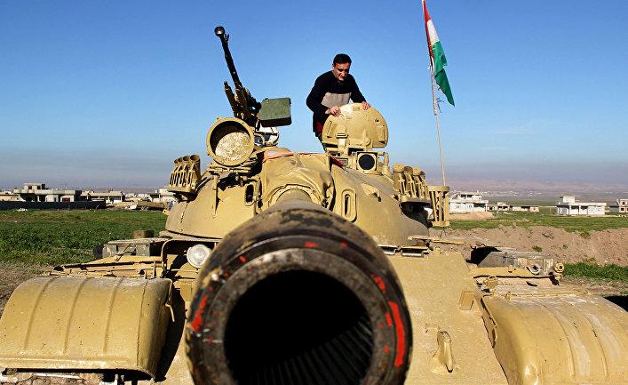 Пешмерга готовятся к бою с боевиками «Исламского государства» на севере Ирака