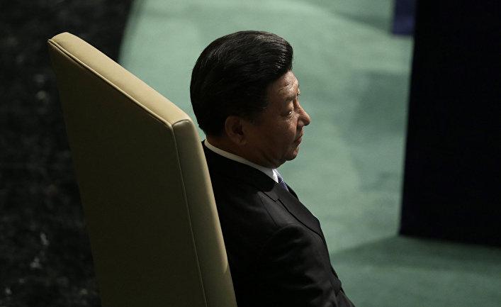Председатель КНР Си Цзиньпин на 70-й сессии Генеральной ассамблеи ООН