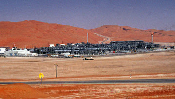 Нефтеперерабатывющий завод в Саудовской Аравии