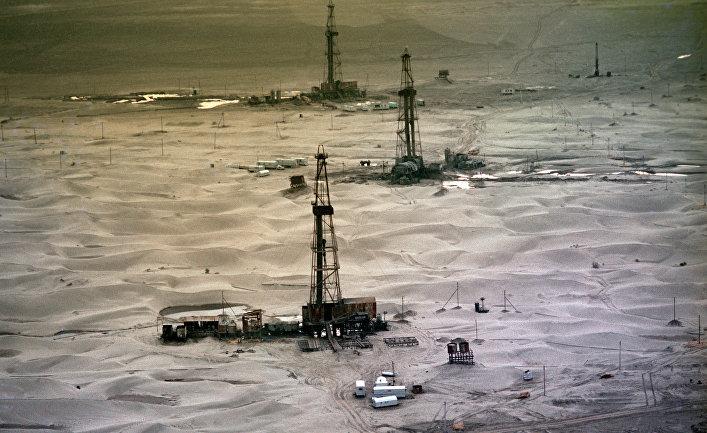 Буровые установки в Туркмении