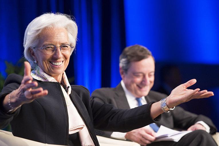 Директор Международного валютного фонда Кристин Лагард