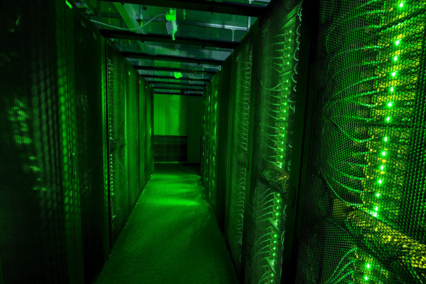 Серверы дата-центра Thor в Исландии