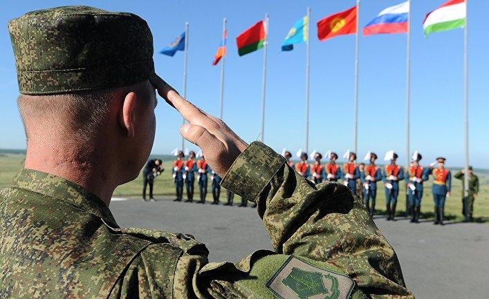 Флаги стран ОДКБ