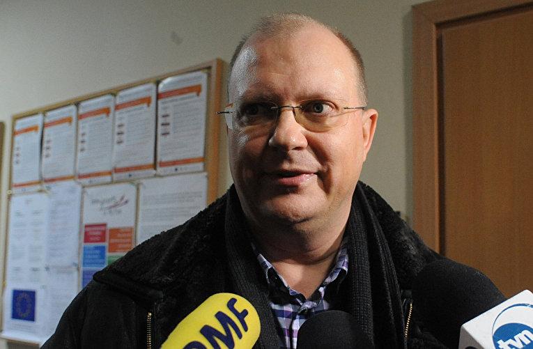 Российский журналист Леонид Свиридов