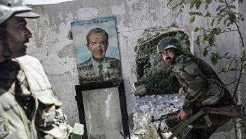 Бои в районе Барзе провинции Дамаск, январь 2015 года