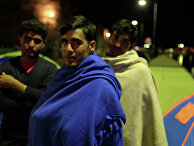 Лагерь беженцев на острове Кос в Греции