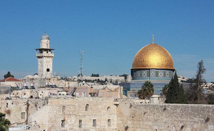 Храмовая гора в Иерусалиме