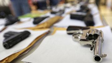 Оружие, конфискованное за год полицией Чикаго