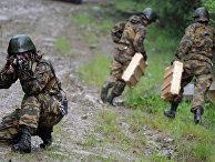 Практические занятия по боевой подготовке 34-й отдельной горной мотострелковой бригады Южного военного округа