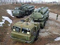 """Зенитный ракетный комплекс (ЗРК) """"Триумф"""" С-400"""